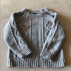 BabyGap grey sweater boys size 3.